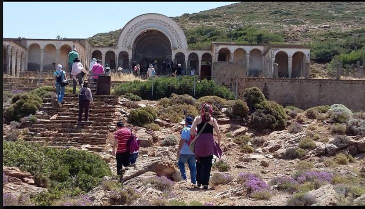 Η διαδρομή προς τον Άγιο Αντώνιο