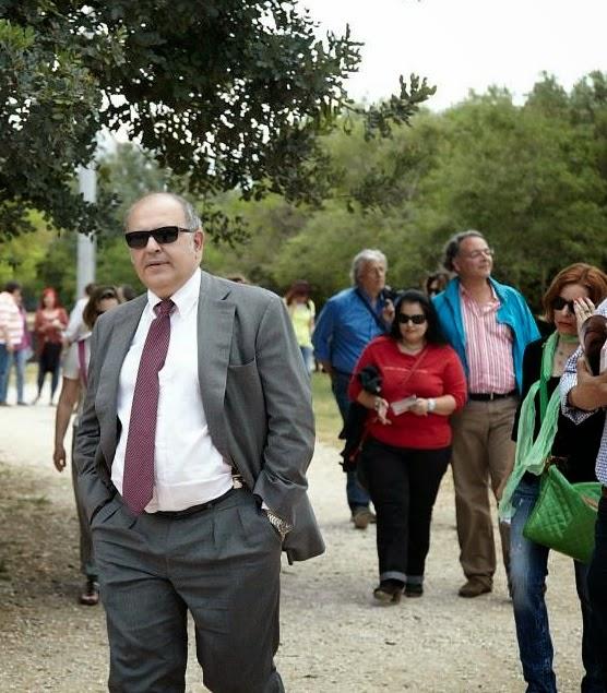 Ο Ν. Ξυδάκης υπουργός της κυβέρνησης ΣΥΡΙΖΑ στο Πάρκο. Συμφωνεί.