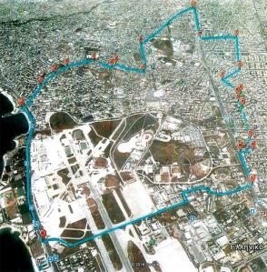 Η περιοχή του Ελληνικού που θέλει να οριοθετήσει ως αρχαιολογικό χώρο.